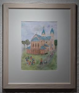 Kreide/Pastelkreide 68x58